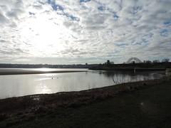 Spike Island / River Mersey (s1ng0) Tags: water westbank promenade locks mersey widnes spikeisland silverjubileebridge