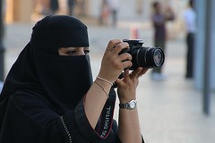 Flickr meeting in Dubai ? (Frans.Sellies) Tags: portrait woman female canon photo flickr dubai uae hijab emirates niqab abaya unitedarabemirates niqaab        img0956