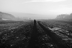 (Olivier Courtois) Tags: winter blackandwhite bw france monochrome canon photography eos alone hiver 5d francelandscapes vision:mountain=0799 vision:outdoor=099 vision:clouds=0788 vision:ocean=0713