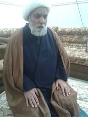 Sheikh praying
