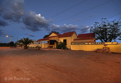 Outback Art (Gallery) (PhotoArt Images) Tags: artgallery silverton australia nsw bluehour australianoutback outbacknsw photoartimages artgalleryintheoutback
