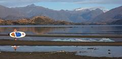 Morning Paddle (Tones Corner) Tags: lake landscape wanaka nzscene nzbeauty