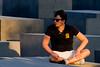 Relaxing. (ЯAFIK ♋ BERLIN) Tags: city sunset white man rest bulge paquete bulto