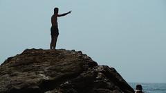 Berrie op rots