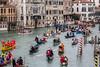 Venetian party (MaxSkyMax) Tags: carnival venice italy canon boats canal grande italia stripes barche poles carnevale venezia canon70200f4lisusm mygearandme mygearandmepremium mygearandmebronze mygearandmesilver