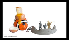 Boiled Eggs and Soldiers (Chris Rayner Darlo) Tags: toy toys comedy with nemo eggs soldiers moment boiled