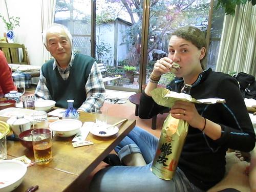 Dégustation de saké, vers Nagoya, Japon