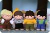 Os meninos (Casinha de Pano) Tags: boy meninos handmade felt feltro enfeitedemesa criançasemfeltro