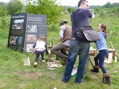 Making rakes - Orchard Barn