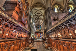 Chichester Cathedral Altar HDR