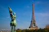 Paris , Eiffel Tower (ZUCCONY) Tags: horse paris tower statue eiffel bobby 2008 zucco bobbyzucco pedrozucco