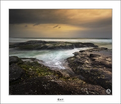 Exit (John_Armytage) Tags: cloud holiday seascape sunrise dawn focus getaway sony australia nsw australiaday northernbeaches tiltshift bungan leefilters bunganbeach canontse24mmf35lii visitnsw johnarmytage exploreaustralia sonya7r