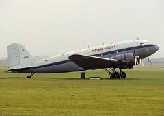 C-GOZA C-47 (Irish251) Tags: 1982 duxford douglas dc3 dakota c47 aceshigh egsu cgoza gantc