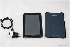 ebay samsung 3g galaxy wifi 70 productphotography gebraucht usedthings tab270 flipcover gtp3100 android422