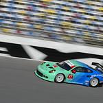 Patrick Long Testing on the Daytona Banking