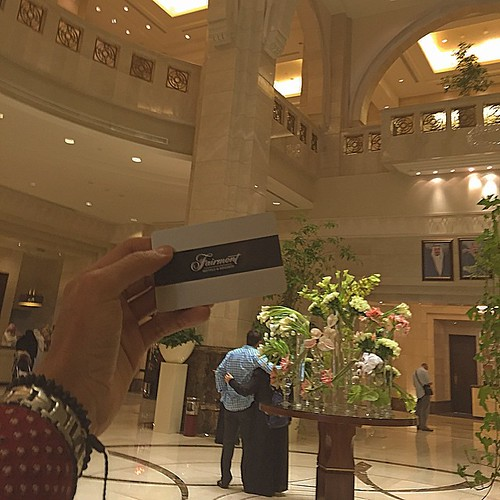 Fairmont lobby hotel💳
