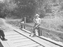 Philmont 1957 (rfulton) Tags: camping blackandwhite boys vintage boyscouts backpacking scouts scoutcamp philmont scouting bsa vintagekids