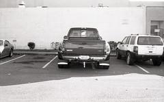 parking slob B 1-2-15 2 (THE Holy Hand Grenade!) Tags: ford geotagged voigtländer duelie f350 berkeleyca bergger bessar4m brf400 nokton40mmƒ14 parkingslob
