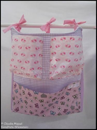 Conjunto tecido bebé A Fada e os pózinhos perlimpimpim lilás21