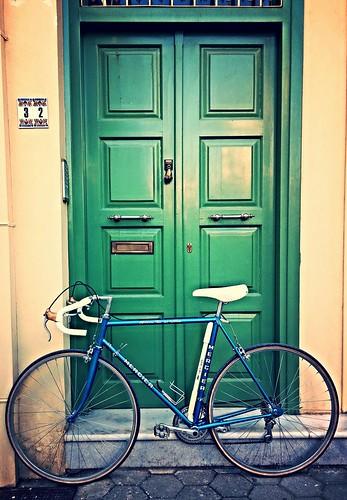 green door blue mercier