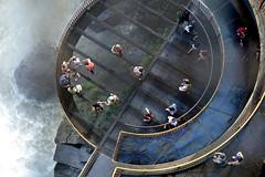 Lookout from a lookout (Tingyu Om) Tags: parque brazil paran brasil topdown cataratas nacional circular iguaz iguau