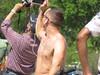 IMG_0388 (FOTOSinDC) Tags: shirtless man tattoo ink candid handsome biker