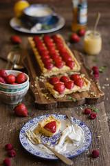 IMG_9623_exp (Helena / Rico sin Azcar) Tags: strawberry berries vanilla tart tarta fresas pastrycream vainilla cremapastelera