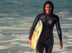 Surfer, Venice Beach. (drpeterrath) Tags: ocean california people water canon la losangeles surf surfer surfergirl 5dsr eos5dsr