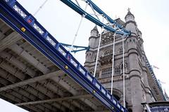 Tower Bridge perspective (Lars Plougmann) Tags: england london towerbridge unitedkingdom perspective gb dscf9682