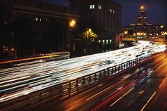 sikol (Kirill Litvin) Tags: street urban night streetlight fuji outdoor moscow fujifilm urbania x100 moscow