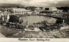 Middleton Tower Holiday Camp (trainsandstuff) Tags: vintage postcard pontins holidaycamp heysham middletontower