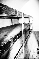 Bunk Beds (A.Nilssen Photography) Tags: camp bw white black konzentrationslager prison theresienstadt kl mala kz lager concentrationcamp gestapo terezin smallfortress pevnost