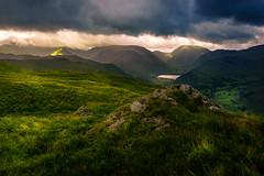 Wonderland (Arek Adeoye) Tags: park uk morning mountains clouds sunrise landscape lakedistrict dramatic hills national valley photooftheday