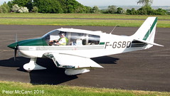 F-GSBD DR400 Fife June 2016 (pmccann54) Tags: glenrothes robindr400 fgsbd fiferegionalairport