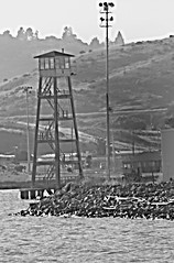 Death  Watch (Gunn Shots (Mark Gunn)) Tags: prison watchtower sanquentin