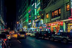 K-Town (Arutemu) Tags: nyc newyorkcity urban usa ny newyork night america us nightscape nightshot unitedstates manhattan midtown korean nighttime american   koreatown nuevayork   24105    midtownmanhattan     eos5d