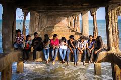 Puducherry (chamorojas) Tags: 60d chamorojas albertorojas india pondicherry puducherry rockbeach beach