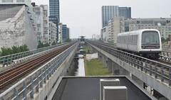 At Bella Center Station (cohodas208c) Tags: copenhagen trains masstransit urbanism restad