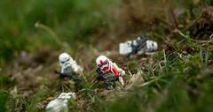 Artillery Annihilation (Worn Out Trooper) Tags: outdoors rebel starwars lego action flcikr afol gibrick