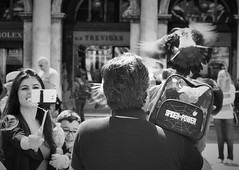 Power (Mango*Photography) Tags: street travel venice people white black travelling interesting photoraphy emotional giulia bergonzoni