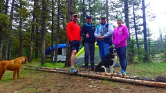 Say Cheese (Oldman Watershed) Tags: dutch creek 2016 backcountry outreach assistants engaging recreationists ohv surveys camping dutchcreek