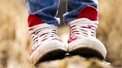 Chucks (Oberson Robin) Tags: blue red white tree rot robin photography schweiz switzerland shoes swiss sony jeans converse bern blau weiss berne schuhe chucks whitw schilf wohlen kleidung roberson wohlensee a99 oberson