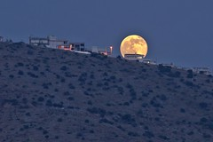 Summer Solstice Full Moon Rising (n.pantazis) Tags: summer moon full fullmoon greece telephoto solstice tamron summersolstice glyfada pentaxks2