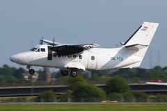 OK-TCA.GLA050616 (MarkP51) Tags: oktca let l410uvpe turboprop glasgow airport gla egpf scotland aviation aircraft airplane plane image markp51 nikon d7200 d