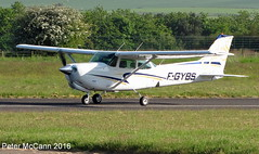 F-GYBS C172 Fife June 2016 (pmccann54) Tags: glenrothes cessna172 fiferegionalairport fgybs