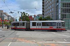 Muni T Line #1529 (Jim Strain) Tags: jmstrain sanfrancisco muni lightrail trolley tram streetcar train transit lrv california