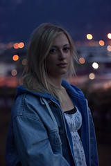 into the night (miriam gangemi) Tags: life city light portrait people urban girl field youth night canon person photography 50mm photo spring eyes peace bokeh outdoor wildlife young picture peaceful portraitphotography pastello youngphotographer thisphotorocks