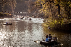 Sunny afternoon in Central Park (Majka Kmecova) Tags: ny nyc manhattan centralpark park people afternoon day daylight love water trees time bridge colors april picture photo photography landscape nikon nikond5000