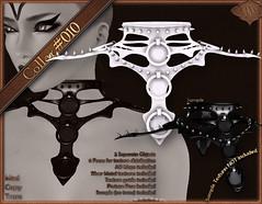 FullPerm_Enter Chaos (XAnSA) Tags: neck necklace chaos cross gothic goth full sl secondlife perm collar choker slave kajira fullperm
