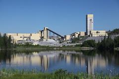 The giant Hemlo (Williams) gold mine, northwestern Ontario (OttawaRocks) Tags: ontario mill gold mine mining barrick hemlo